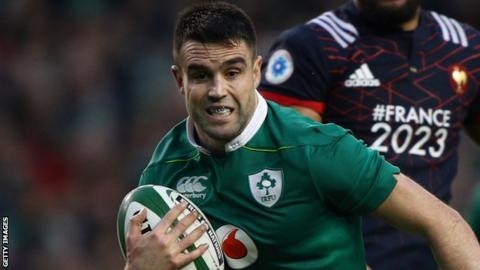 Conor Murray scored the only try in Ireland's 19-9 win over France at the Aviva Stadium