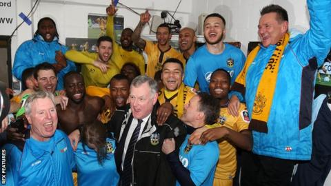 The tie with Arsenal will be Sutton United's seventh game in this season's FA Cup