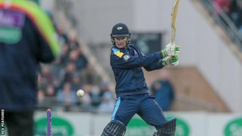 Yorkshire's Peter Handscomb