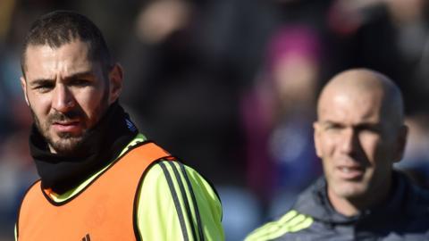 Karim Benzema 'distraught' - Zinedine Zidane