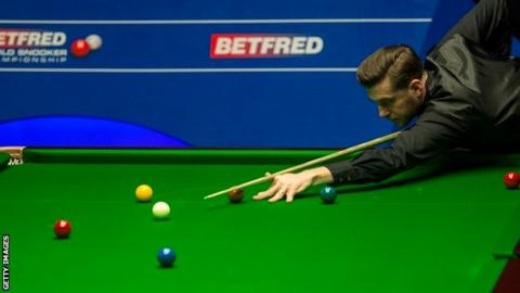 World Championship 2017: Mark Selby beats Fergal O'Brien 10-2 in opener