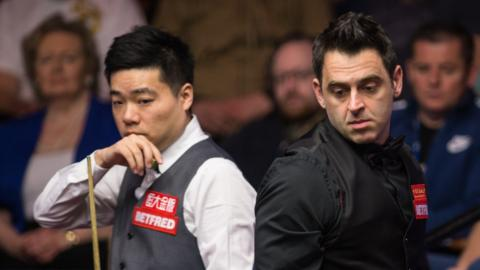 Ding Junhui and Ronnie O'Sullivan