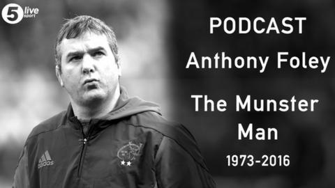 Anthony Foley podcast link