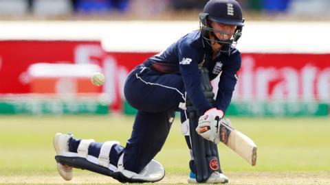 England's Fran Wilson