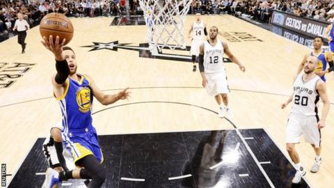 Golden State Warriors v San Antonio Spurs