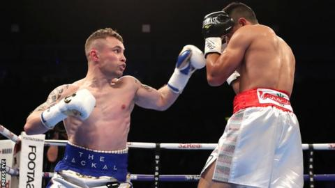 Carl Frampton forced to go all the way in winning return