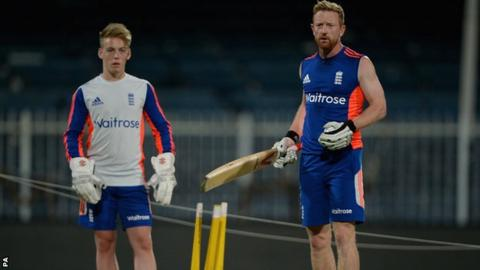 Tom Moore and Paul Collingwood