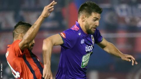 Cerro Porteno and Antonio Rojano