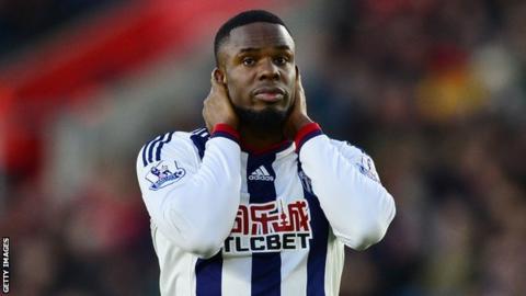 Nigeria striker Victor Anichebe