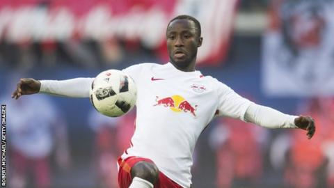 Leipzig's Guinea star Naby Keita recovering after collapsing