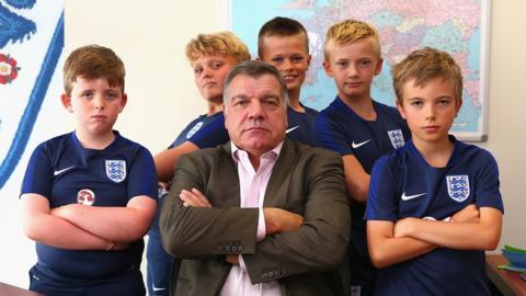 Allardyce and the boys