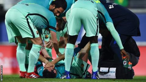 Match Reports: Eibar 0-4 Barcelona