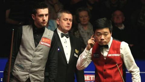 Selby and Ding