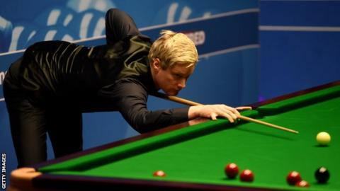 World Championship 2017: Neil Robertson needs more 'adrenaline'