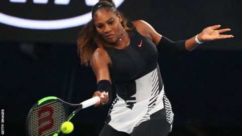 Serena Williams Bares Her Baby Bump Like Demi Moore