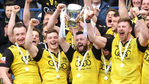 Melrose lift the BT Cup