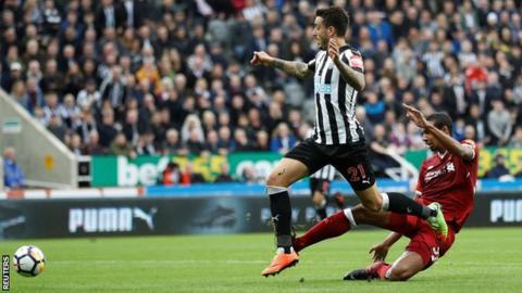 Joselu equaliser sees Newcastle hold wasteful Liverpool