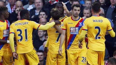 Benteke scores for Crystal Palace