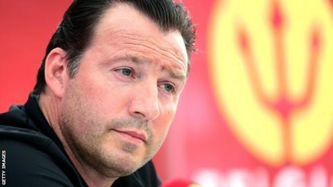 Belgian coach Marc Wilmots