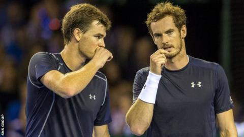 Jamie and Andy Murray have never lost a Davis Cup doubles rubber