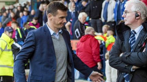Lee McCulloch steps down as manager of Kilmarnock