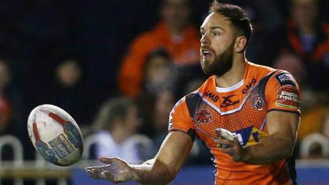 Castleford's Luke Gale