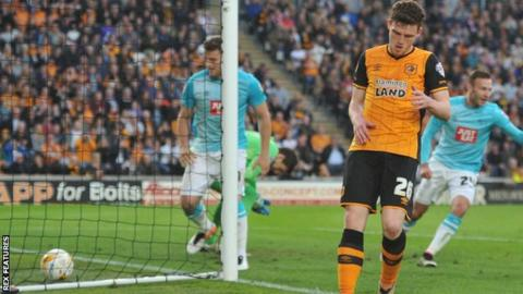 Andrew Robertson own goal for Hull
