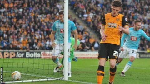 Andrew Robertson own goal for Hull