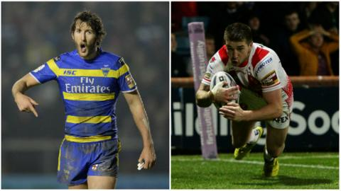 Stefan Ratchford and Mark Percival could both make their England debut