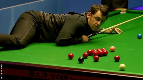 Ronnie O'Sullivan Wears Trainers During English Open Match