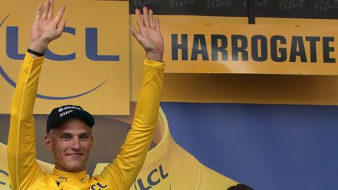 Marcel Kittel won the opening stage of the 2014 Tour de France that finished in Harrogate