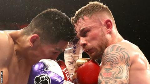 Carl Frampton and Barry McGuigan partnership reportedly on the rocks