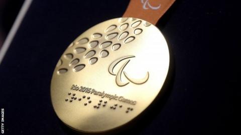 Rio Paralympics gold medal