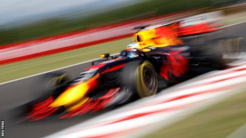 Daniel Ricciardo fastest at Hungary Grand Prix's first practice""