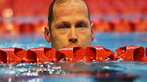 British swimmer Sascha Kindred OBE
