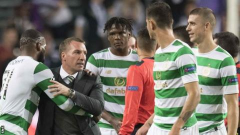 'Outstanding' Celtic delight Rodgers after win at Anderlecht