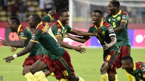Cameroon also beat Senegal on penalties in the 2002 final