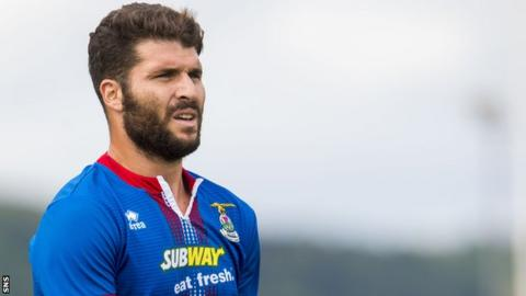 Dani Lopez on trial with Inverness