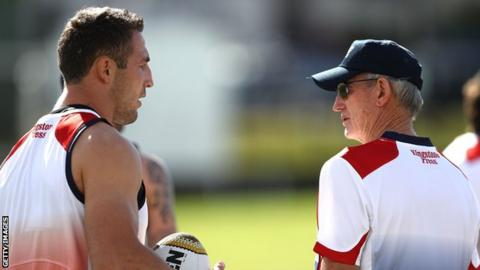 England World Cup squad has 'X Factor' - Burgess