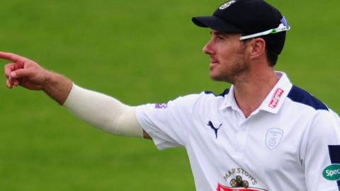 Hampshire acting captain Will Smith