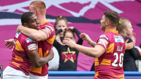 Jermaine McGillvary, Jack Hughes and Jamie Ellis