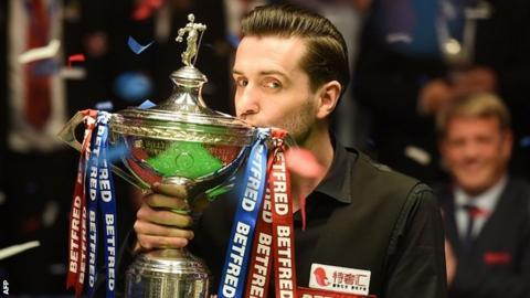 Mark Selby: World champion close to return from broken toe