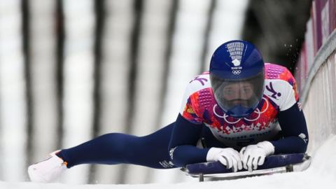 Olympic skeleton champion Lizzy Yarnold