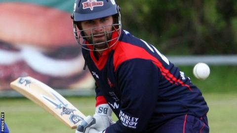 James Shannon top-scored for the Knights with a fine 59 against the Warriors
