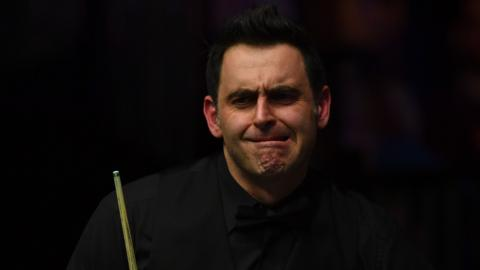 Ronnie O'Sullivan Masters final