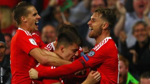 Wales move above England in latest Federation Internationale de Football Association world rankings