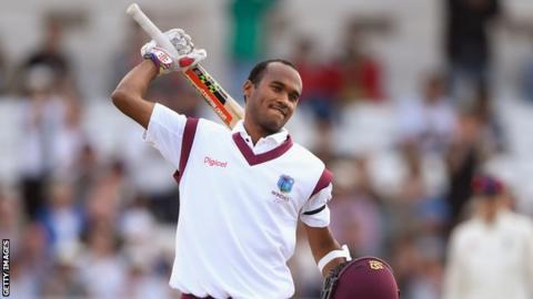 England v West Indies: Kraigg Brathwaite and Shai Hope dominate at Headingley