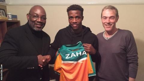 Augustin Sidy Diallo, Wilfried Zaha, Michel Dussuyer