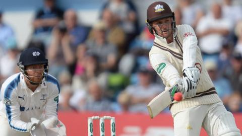 Jason Roy's return to form came too late for England's hopes in the Champions Trophy - but Surrey are cashing in