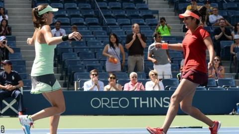 Martina Hingis and Sania Mirza